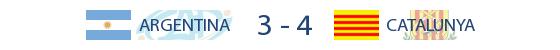 Argentina 3-4 Catalunya