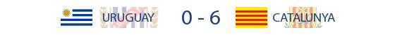 Uruguai 0-6 Catalunya
